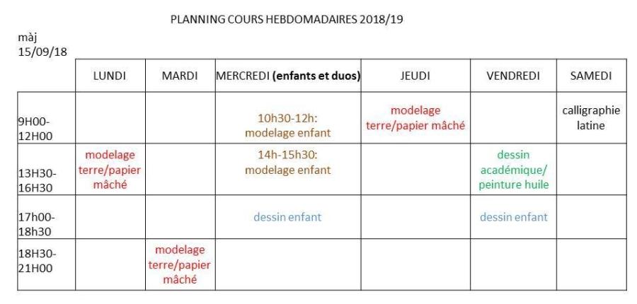 planning 18-19