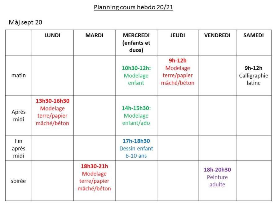planning 20-21